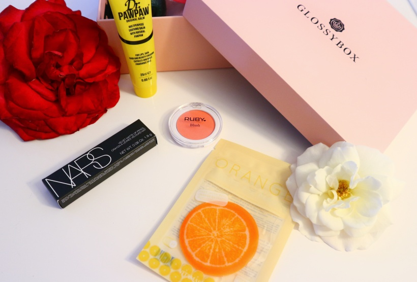 glossybox juin patch orange yeux