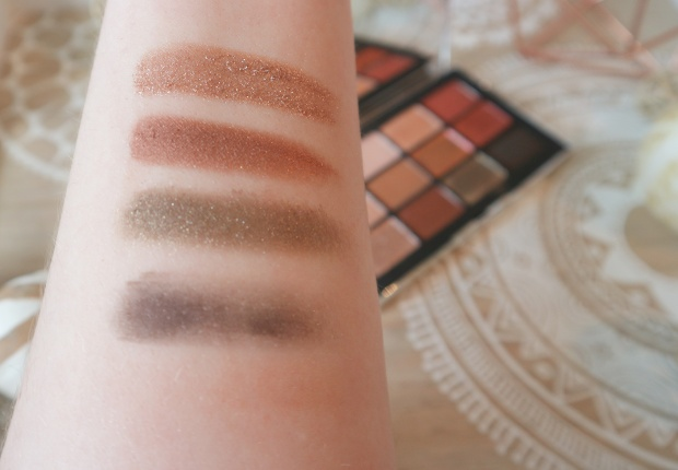 swatches narsissist wanted eyeshadow palette nars