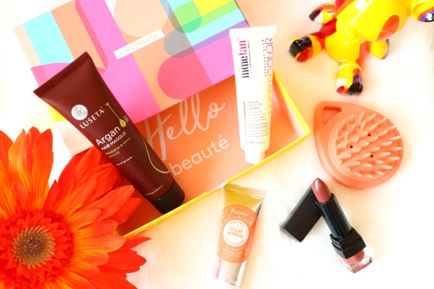 Birchbox avril pop couleur