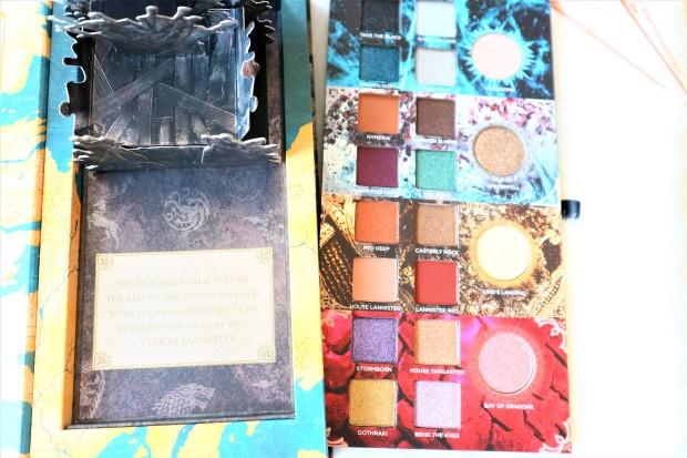 palette game of thrones urban decay